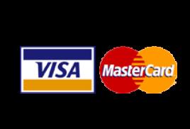 Оплата банковскими картами Visa и MasterCard